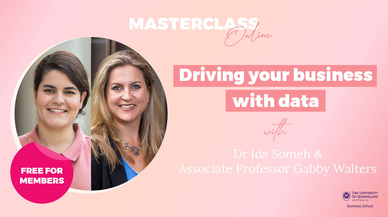 Masterclass: Driving your business with data